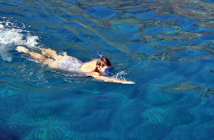 Swim off your private charter gulet in crystal clear waters