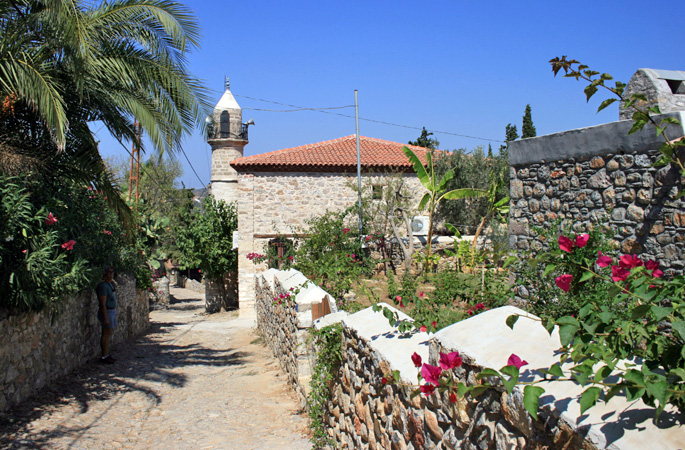 Explore traditional stone villages along the Aegean & Mediterranean coasts of Turkey