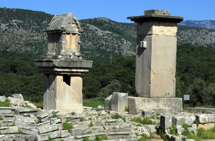Explore ancient Xanthos
