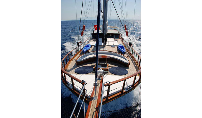 24m luxury private charter yacht Atalante for 8 guests