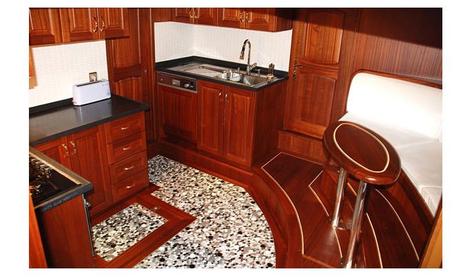 Interior galley