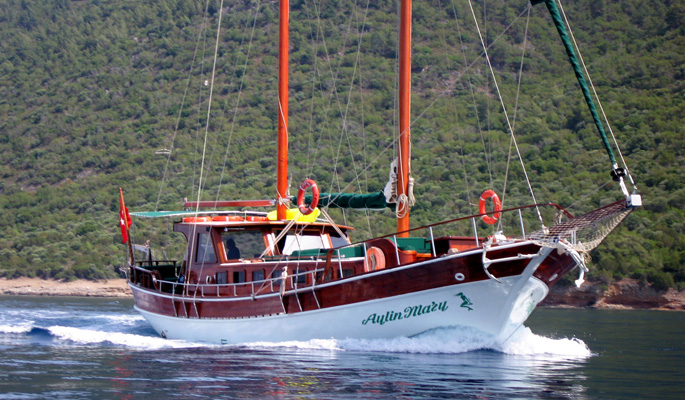 17.5m charter gulet Aylin Mary