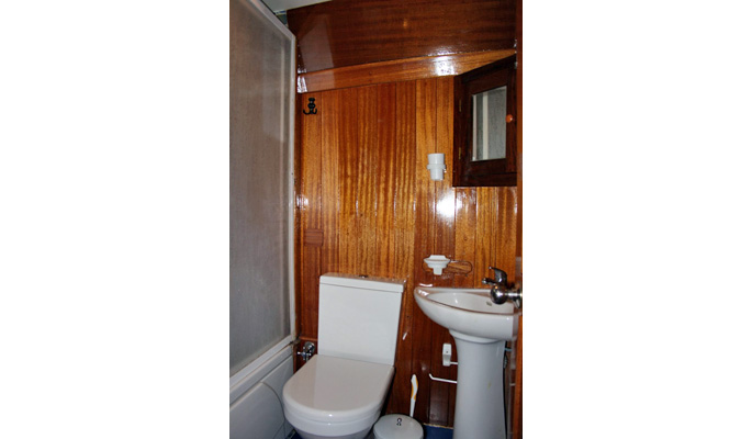All en suite with small bathtubs/ WC