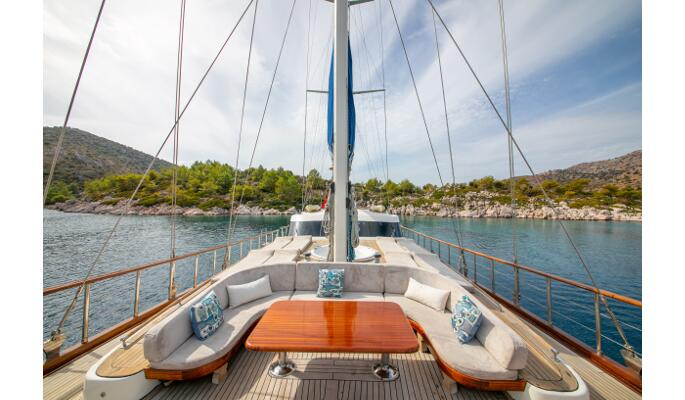 Luxurious Jacuzzi on deck