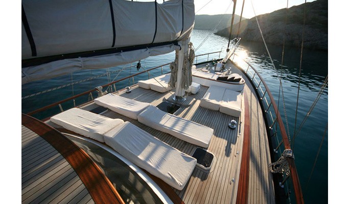 24m private luxury charter gulet Didi for 8 guests in 4 cabins