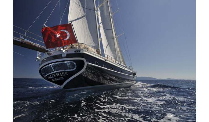 VIP gulet yacht charter cruise in Turkey with Dolce Mare