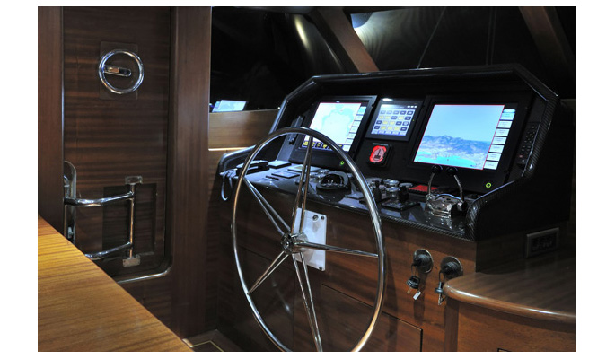 Dolce Mare has the latest navigation technoloies