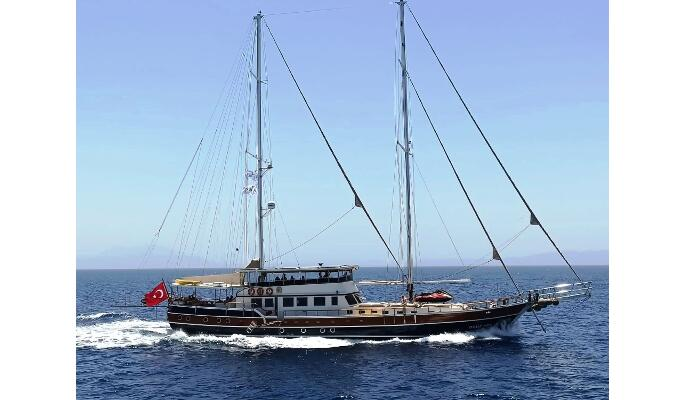 32m luxury gulet gulet Oguz Bey for up to 20 Guests in 10 Cabins