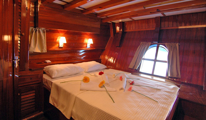 Spacious en suite double cabin