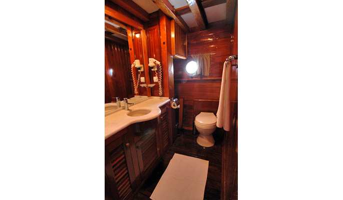 Luxurious en suite bathroom