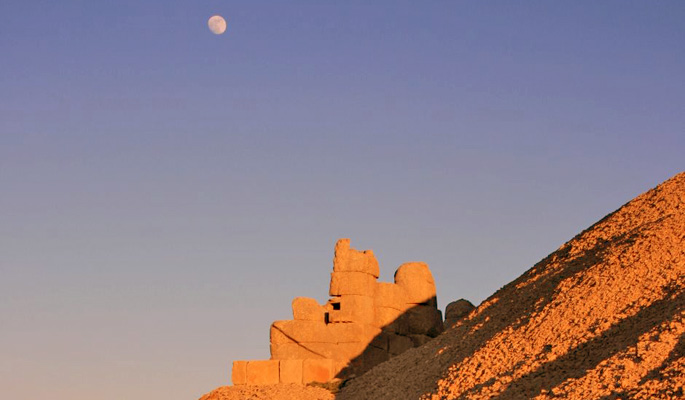 Breathtaking views at Nemrut Dag