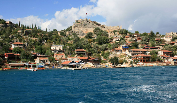 The beautiful region of Kekova