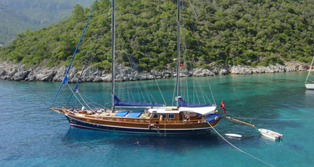 A High Standard Gulet for Private Charter In Style
