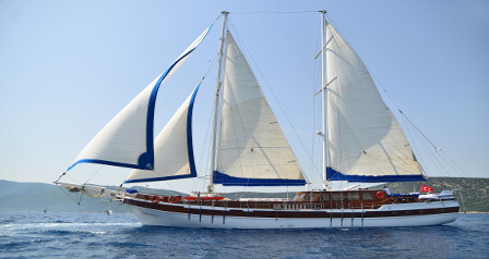 Economical Good Size Turkish Charter Holiday Gulet