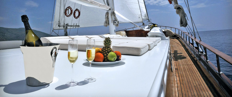 Escape To Luxury On A Gulet Charter In Turkey.