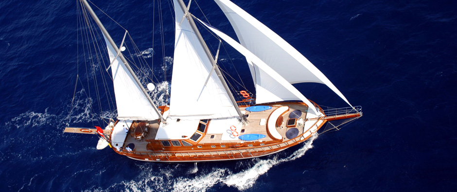 Sailing Charter In Turkey For Couples, Families & Groups
