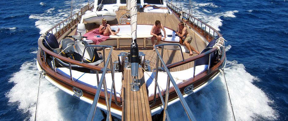Spacious Gulet Yachts Designed For Dreamy Days Of Pure Relaxation