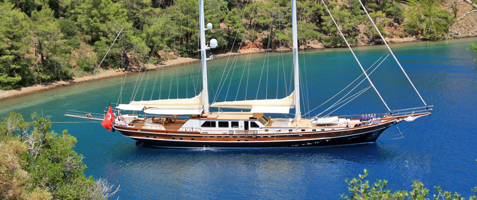 Cruise Between The Unspoilt & Tranquil Bays of The Turkish Coast
